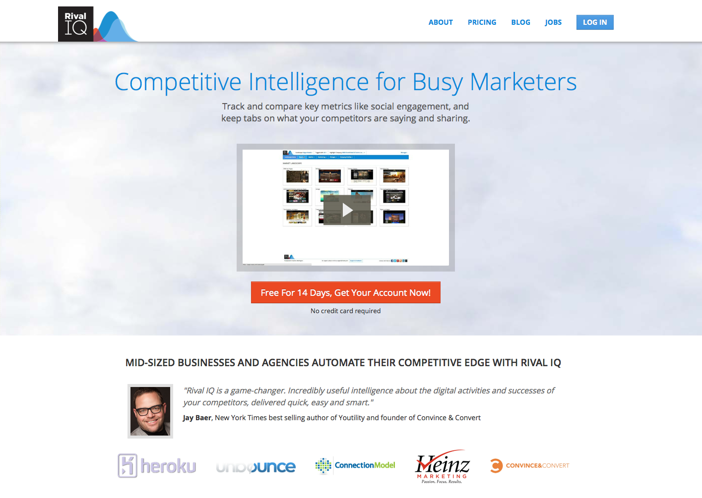 Competitor Analysis and Marketing Intelligence Software by Rival IQ 2014-05-20 17-19-41 2014-05-20 17-19-45